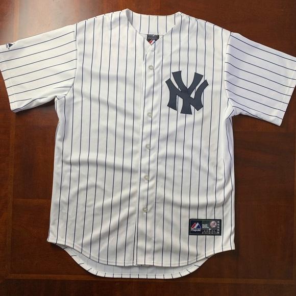 premium selection 319b6 14a59 Majestic New York Yankees Jersey Button Up Medium